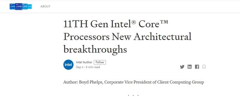 Мобильные процессоры Intel Tiger Lake-H: повышенные частоты, 8 ядер и 24 МБ кэш-памяти третьего уровня