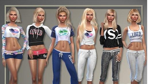 как скачать моды на одежду в симс 4