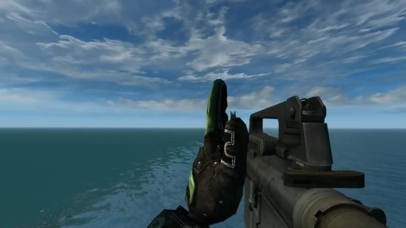 Battlefield 2 HD Remaster - Демка всего оружия