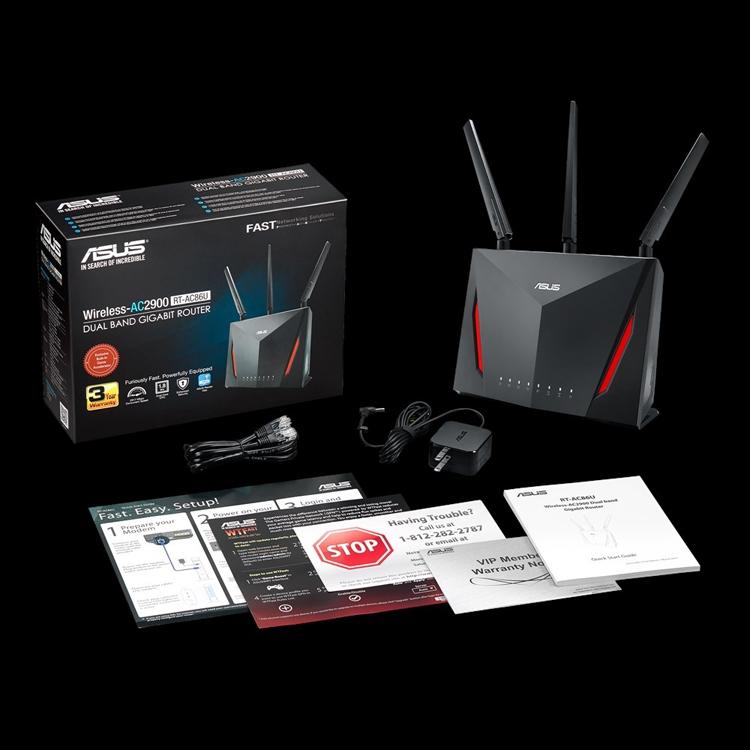 ASUS RT-AC86U: двухдиапазонный маршрутизатор игрового класса
