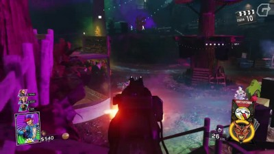 Геймплей Call of Duty - Rave in Redwoods