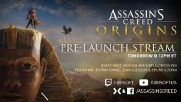 Запись стрима Assassin's Creed: Origins с разработчиками