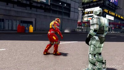 Iron Man vs RoboCop