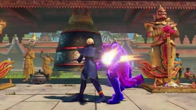 STREET FIGHTER 5 Falke Gameplay Trailer PS4 (2018)