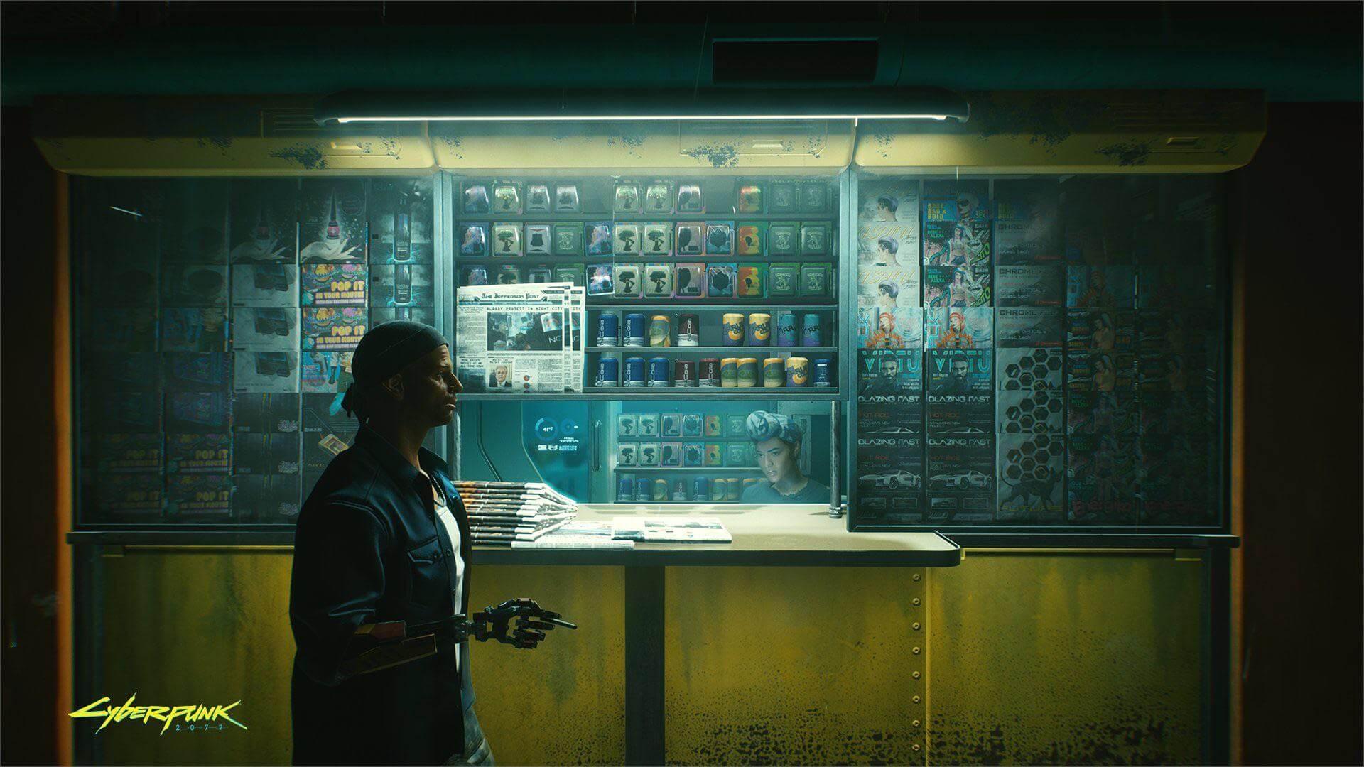 Новый скриншот Cyberpunk 2077