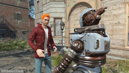 Лучшие сцены из Футурамы, воссозданые в Fallout 0 при помощи модов. Вторая часть.
