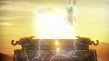 "Raving Rabbids  Travel in Time ""The Mayan Treasure Trailer"""