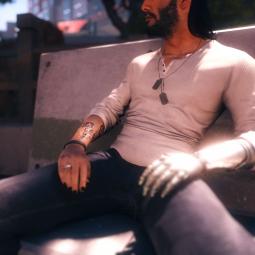 Casual top and jeans / Повседневный верх и джинсы
