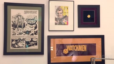 Тур по студии художника комиксов Дейва Гибсона