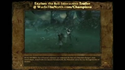 "LotR: War in the North: ""Abridged Official Interactive Champions Trailer"""