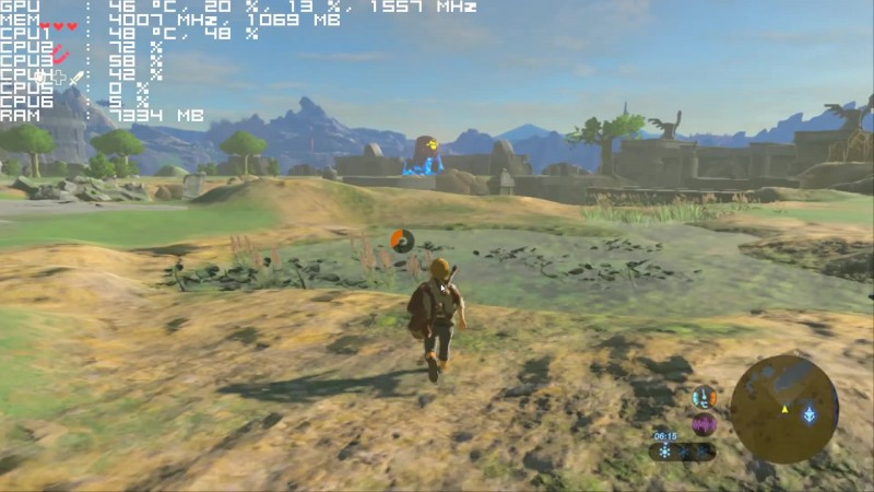The Legend of Zelda Breath of the Wild Cemu 1 7 3d 30 fps 1080hd