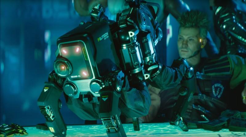 Даже Spider-Bot, который мелькает в трейлере тоже производства Militech