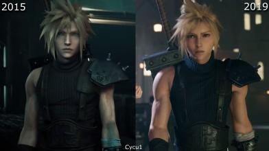 Сравнение Final Fantasy 7 Remake с PSX 2015 и новым трейлером
