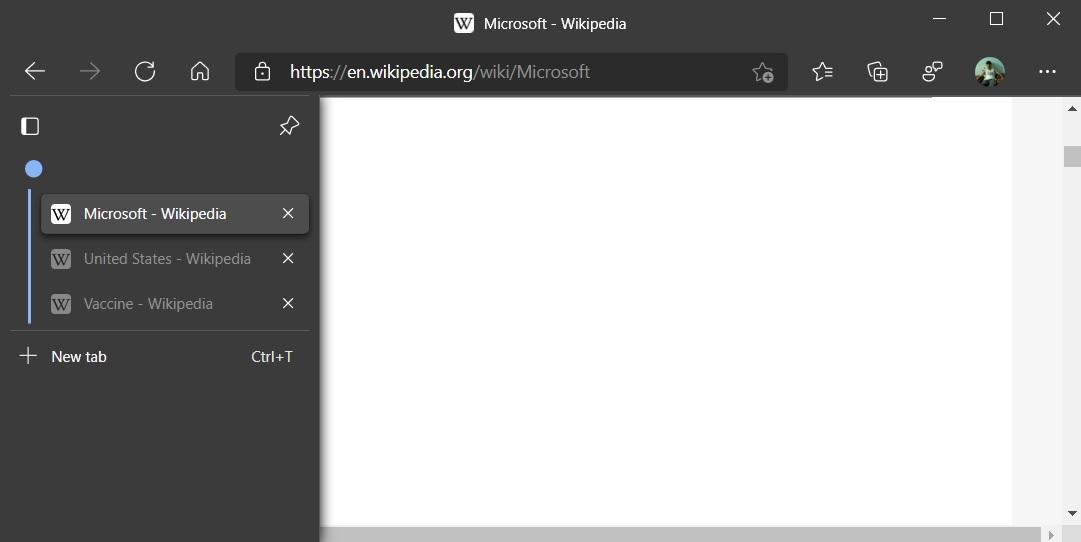 Microsoft Edge на пороге огромного обновления - вертикальные вкладки и не только они