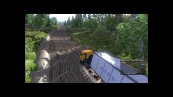 "Euro Truck Simulator 2 ""дороги на р43"""