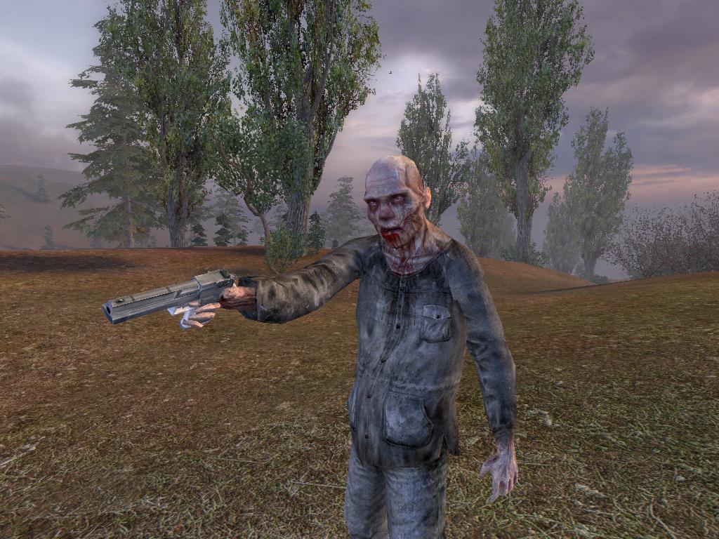 картинки сталкере зомби