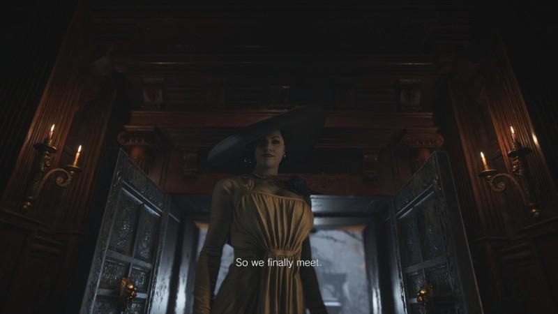 Размер имеет значение - подсчитан рост симпатичной вампирши из Resident Evil Village