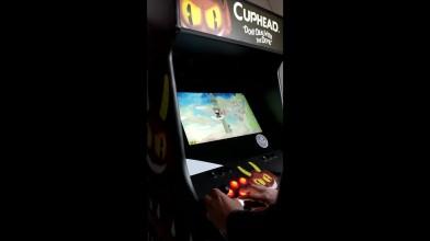 Игровой автомат в стиле Cuphead