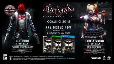 "Batman: Arkham Knight ""DLC The Red Hood"""