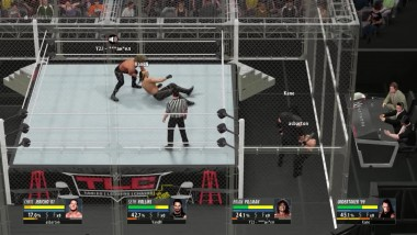 "WWE 2K16 ""ONLINE Fatal 4-Way - Hell in a Cell - Seth Rollins VS Undertaker VS Chris Jericho VS Brian Pillman"""