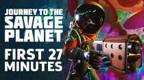 Первые 27 минут игрового процесса Journey To The Savage Planet