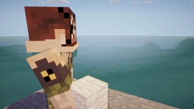 "Metal Gear Solid V: The Phantom Pain ""Трейлер E3 2014 (MINECRAFT)"""