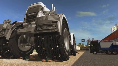 Scania Monster Truck Euro Truck Simulator 2 multiplayer