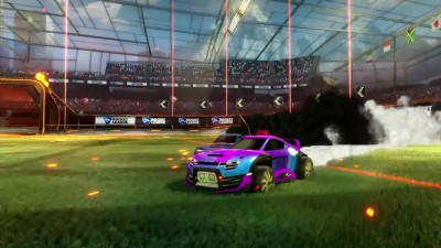 "Rocket League ""Трейлер Supersonic Fury DLC Pack"""