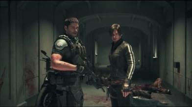 Leon & Chris против зомби