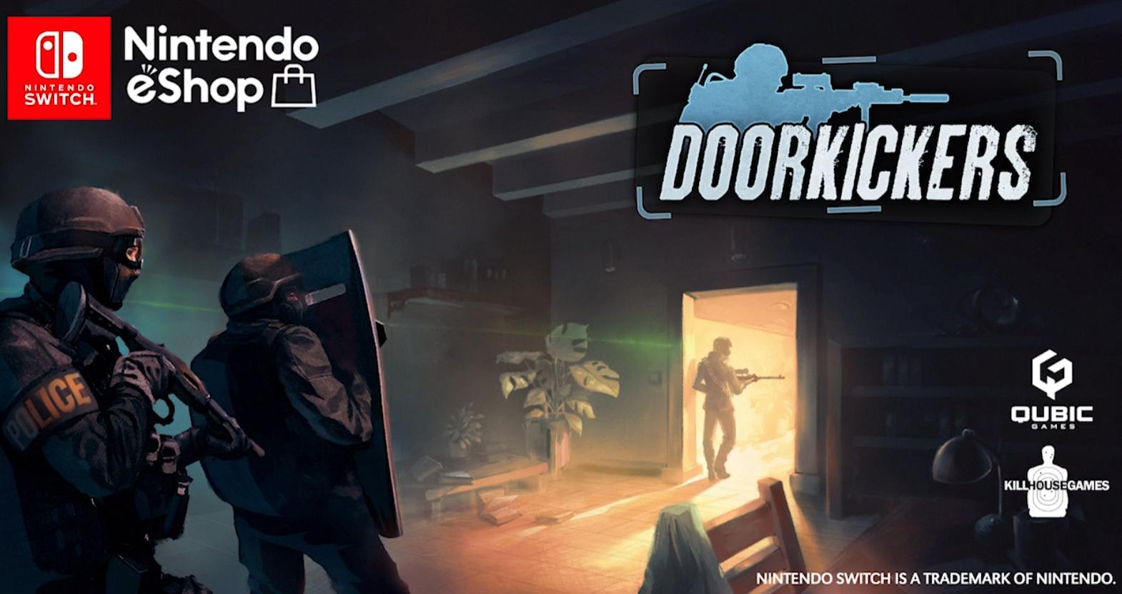 Door Kickers готовится к релизу на Nintendo Switch
