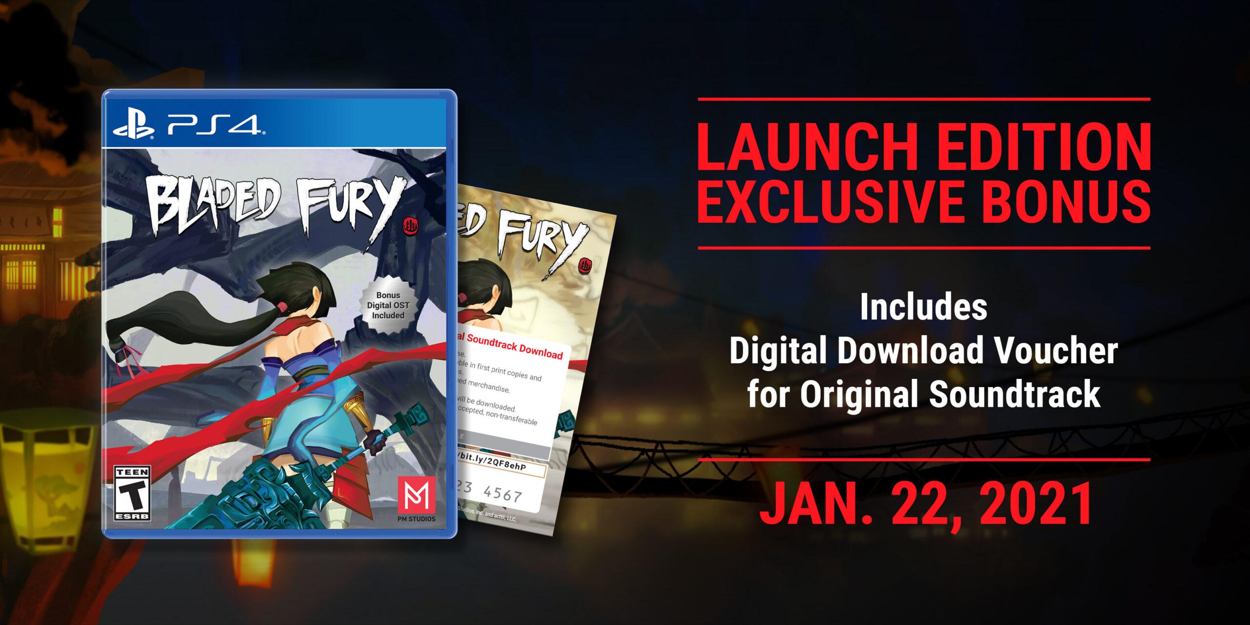 Релиз игры Bladed Fury состоится в январе 2021 года на PS4, Xbox One и Switch