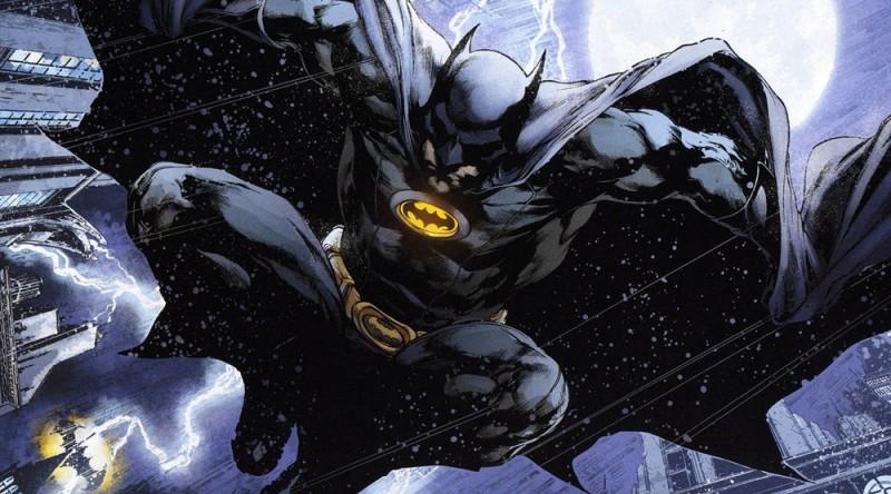 Бэтмен в комиксе DC