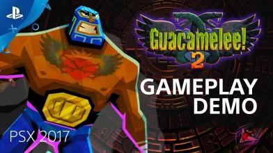 Геймплей Guacamelee! 2 показали на PSX 2017
