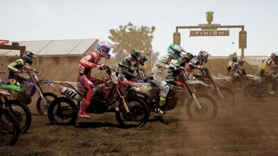 Switch-версия MXGP3: The Official Motocross Videogame получила дату релиза и трейлер
