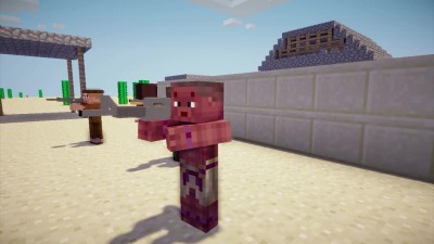 "Metal Gear Solid 5: The Phantom Pain ""Трейлер E3 2013 (MINECRAFT)"""