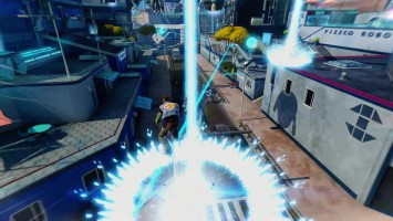 "Sunset Overdrive ""Трейлер дополнения Dawn of the Rise of the Fallen Machines"""