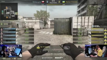 "Counter-Strike: Global Offensive ""Edward vs Virtus Pro ACE"""
