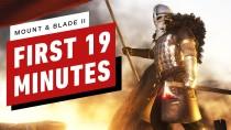 Первые 20 минут Mount & Blade 2: Bannerlord
