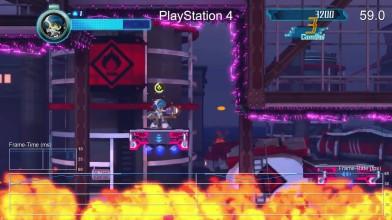 """Mighty No. 9 """"Сравнение производительности PS4 vs Xbox One """""""