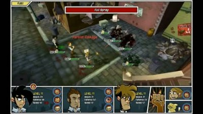 "Penny Arcade Game ""Fight Gameplay"""