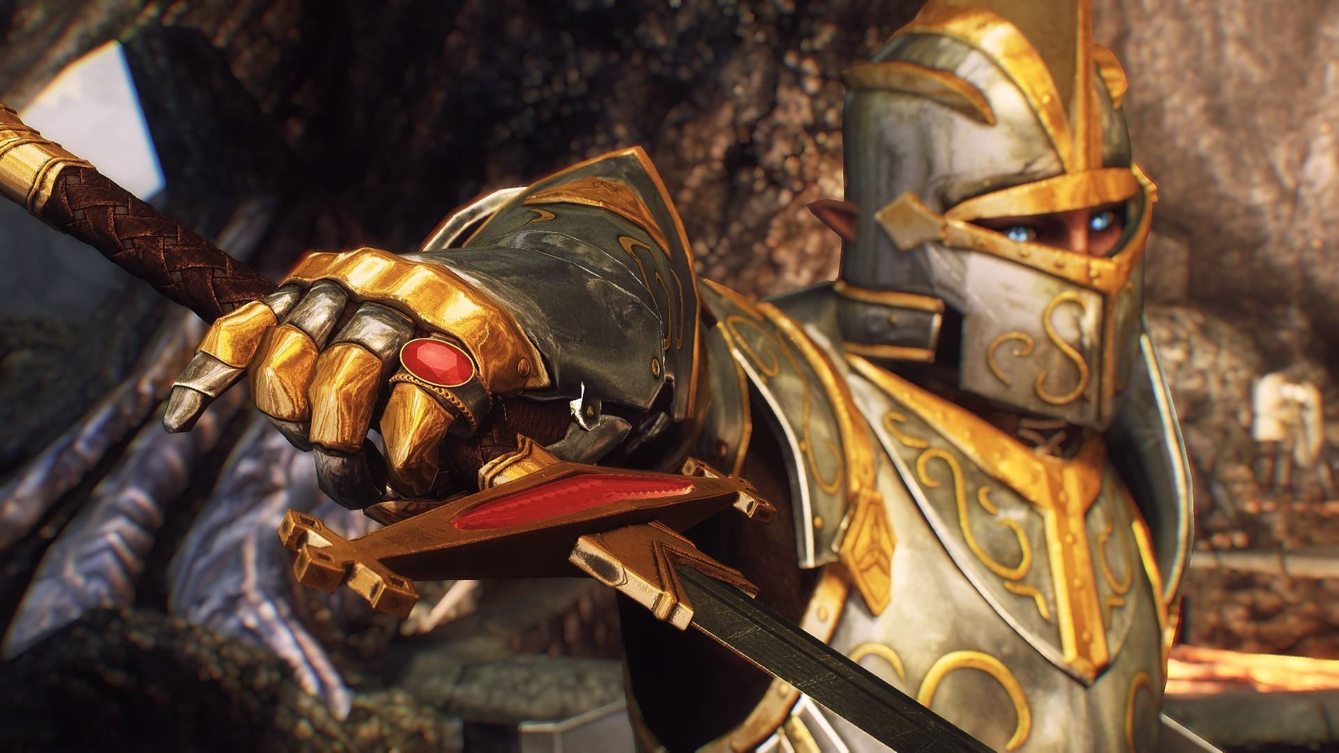 Скачать мод на скайрим на броню паладина