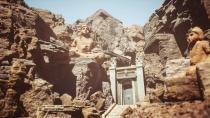 Первый скриншот технодемки Unreal Engine 5 в Unreal Engine 4.25