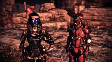 Mass Effect 3: Что у Тали под маской- Сюрприз (свободная камера)