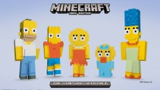 Дополнение с Симпсонами скоро станет доступно для игры Minecraft