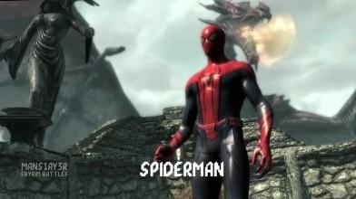 Войны скайрима - Веном против Человека-Паука