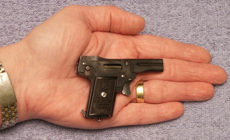 Гайд по получению мини-пистолета Kolibri в Battlefield 1