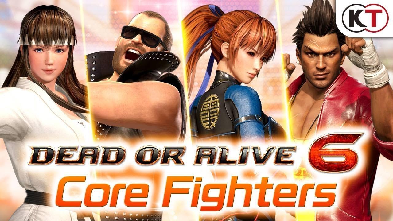 Трейлер бесплатной Dead or Alive 6: Core Fighers