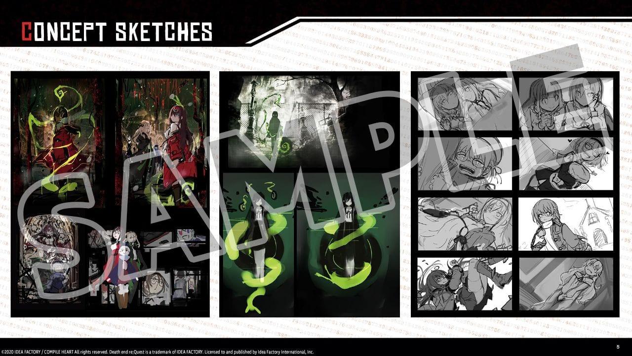 Death end re; Quest 2 выйдет в Европе 28 августа на PS4 и PC.