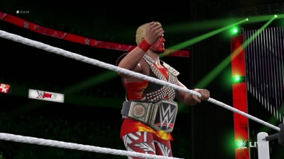 WWE Raw 2016 - Seth Rollins VS Amazing Tiger Sam (WWE 2K16 Universe)