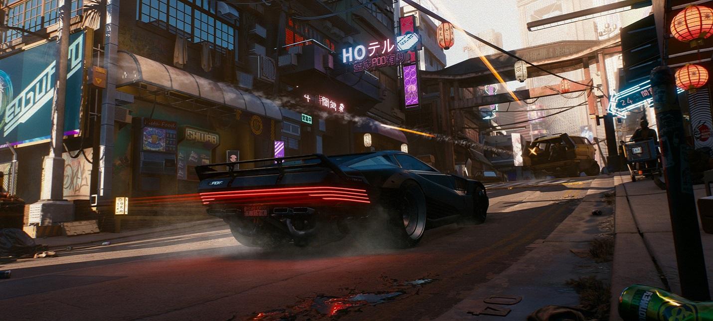 Cyberpunk 2077: ведущий дизайнер квестов рассказал о транспорте и взаимодействие с ним